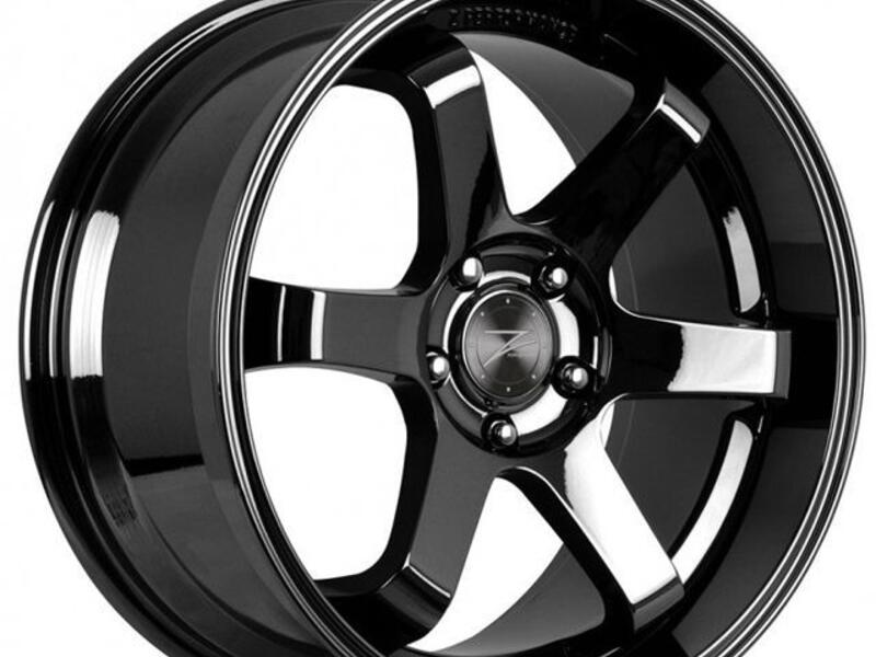 ZP.10 Concave  Black Chrome