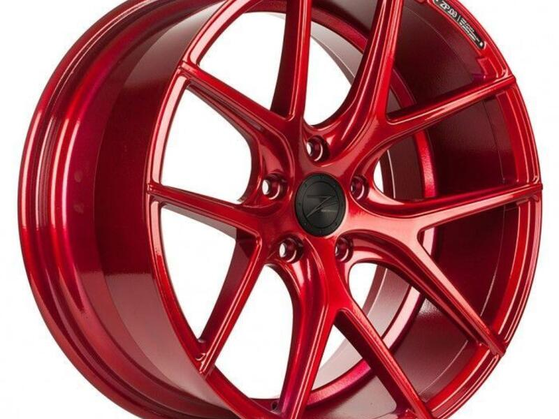 ZP.09 Deep Concave  Candy Red